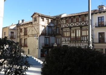 Casas de mampostería en Cuéllar, Segovia