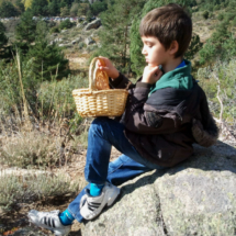 Los aficionados a la fotografía podéis practicar con vuestros hijos como modelos