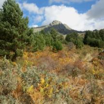 Los colores de La Barranca invitan a fotografiar el paisaje