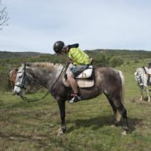 Recorremos Las Médulas, en Léon, a caballo