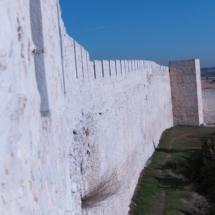 Tramo de la muralla de Cuéllar