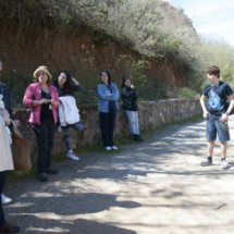 Visitamos Las Médulas en familia, con Ricardo y Angélica