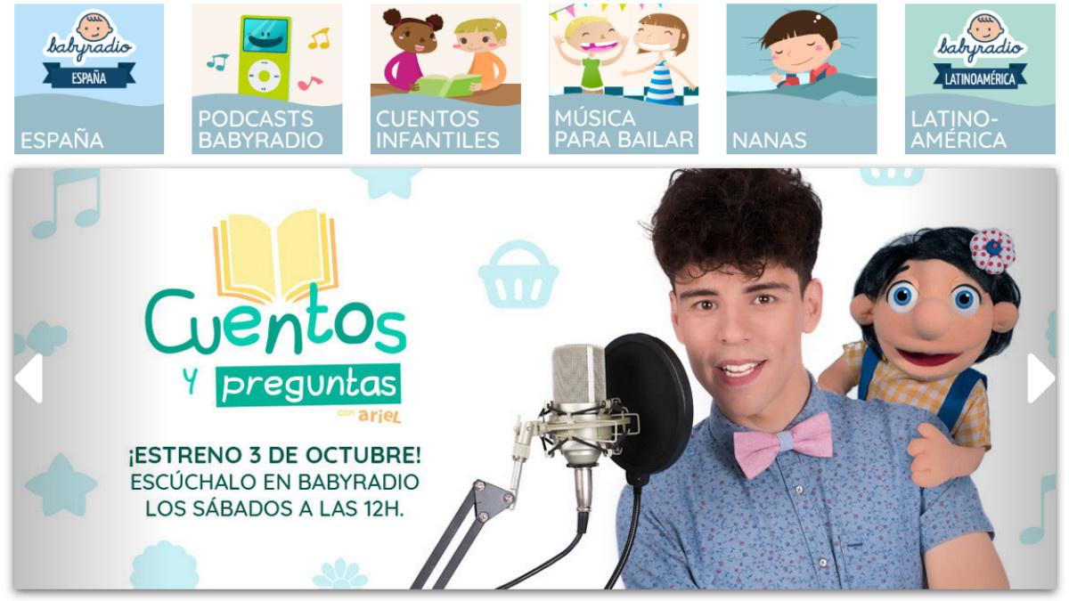 Babyradio, una emisora de Radio online para niños y niñas