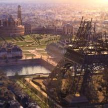 Imagen de París, en la película de animación 'Ballerina'