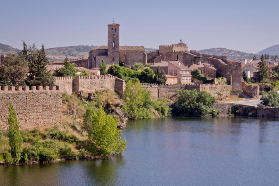 Vista general de Buitrago de Lozoya