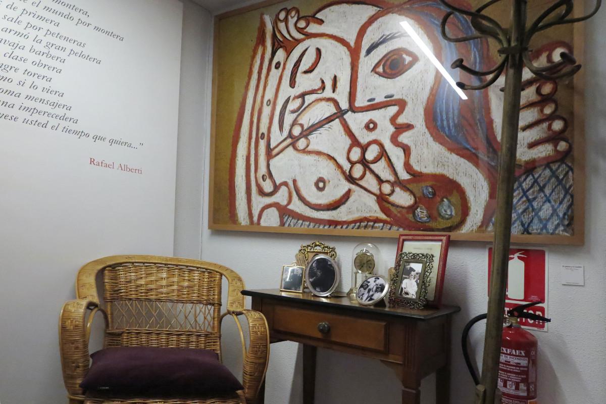 Detalles del Museo de Picasso de Buitrago del Lozoya