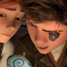 Felicia y Victor, protagonistas de la película de animación 'Ballerina'
