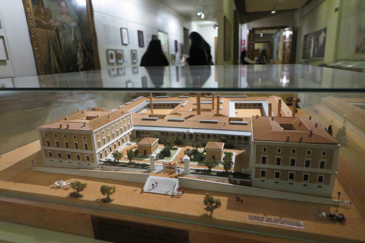 Maqueta de la Real Casa de la Moneda de Madrid