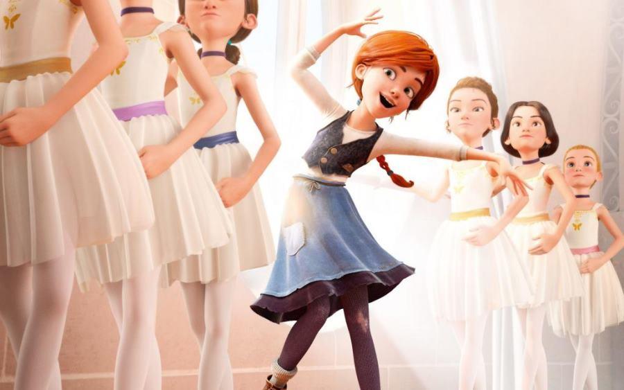 Cartel de la película infantil 'Ballerina'