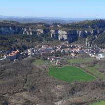 Vista del pueblo de Roquefort