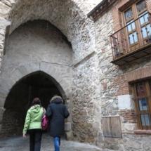 Arco de la muralla de Buitrago de Lozoya