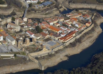 Vista aérea de Buitrago de Lozoya