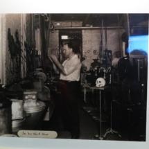 Houdini en su estudio