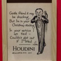 Humor sobre Houdini