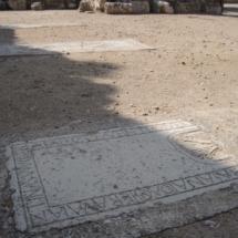 Lápidas en la Iglesia de San Pedro de Hita