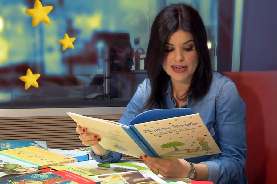 Cristina Hermoso de Mendoza dirige y presenta un espacio infantil en Radio 5, de RNE