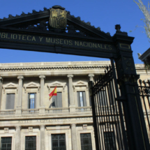Entrada del Museo Arqueológico Nacional