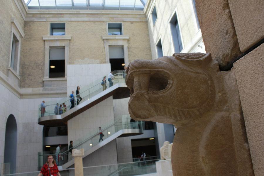 Patio interior del Museo Arqueológico Nacional