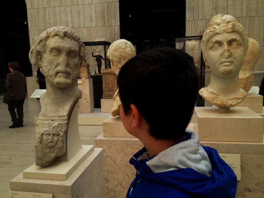 Visitamos el Museo Arqueológico Nacional (MAN), con los niños