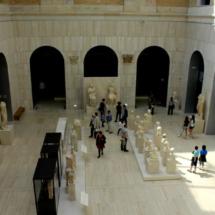 Patio central del Museo Arqueológico Nacional