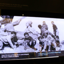 Vídeo explicativo en el Museo Arqueológico Nacional