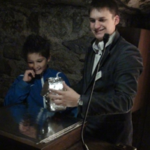 Cata de quesos de Roquefort en las cuevas de Société