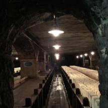Cueva o bodega de quesos de Roquefort Société