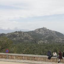 Vistas desde el Valle de los Caídos