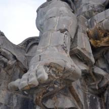 Fragmento de La Piedad, en el Valle de los Caídos