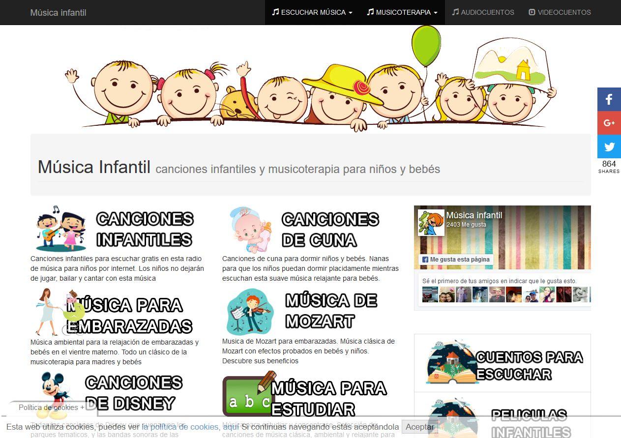 Web de MusicaInfantil.org