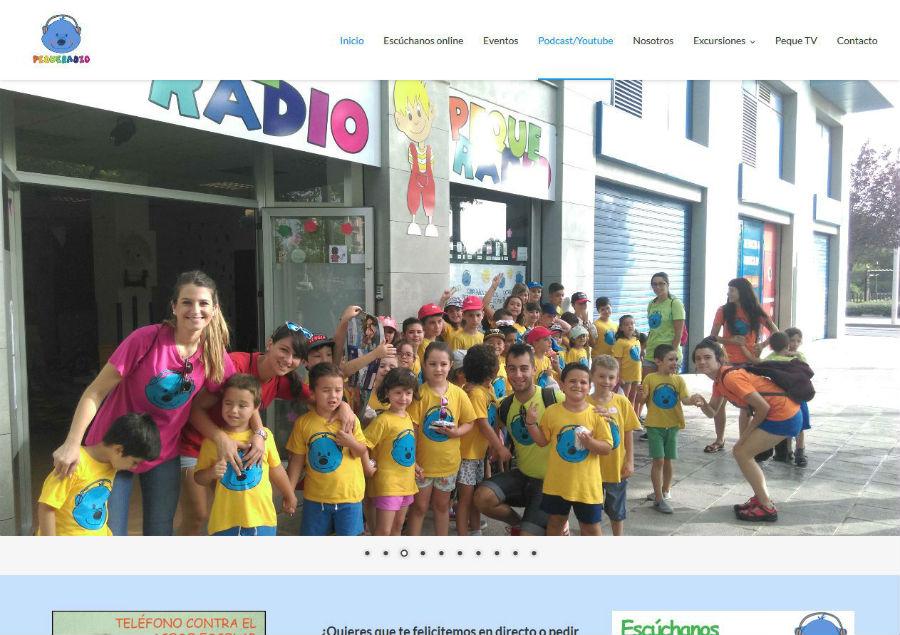 Web de la PequeRadio