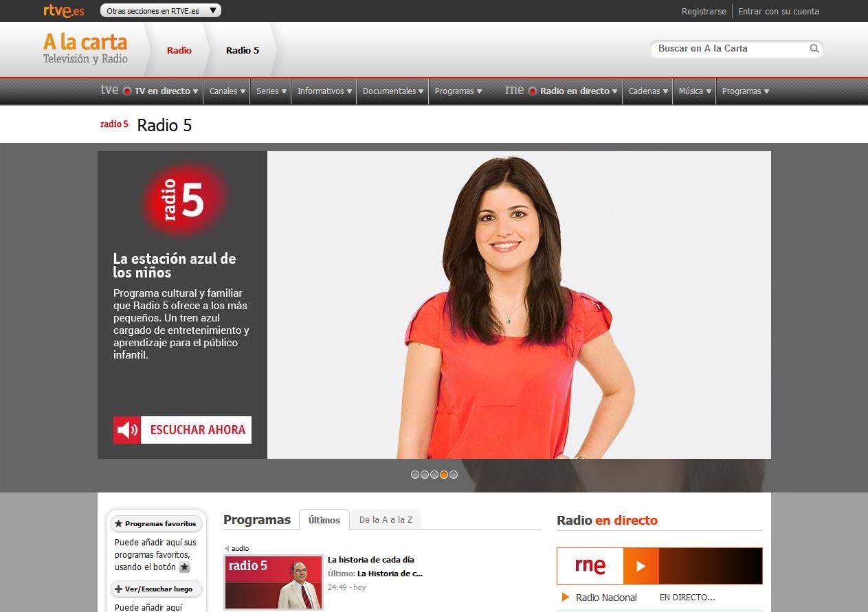 Espacio infantil en Radio5