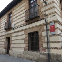 Por esta calle se accedía a la casa de Cervantes en su época
