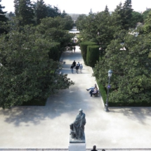 Paseo de los Jardines de Sabatini