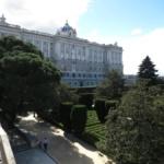 Jardines de Sabatini, a los pies del Palacio Real
