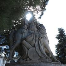 Estatua de los Jardines de Sabatini