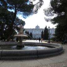 Fuente de los Jardines de Sabatini