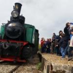Viaje en el tren de vapor de Arganda