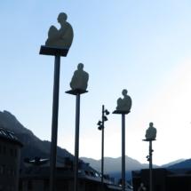 7 poetas, de Jaume Plensa