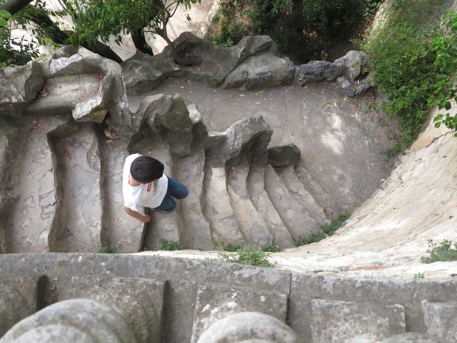 Representación del cocodrilo de Nîmes