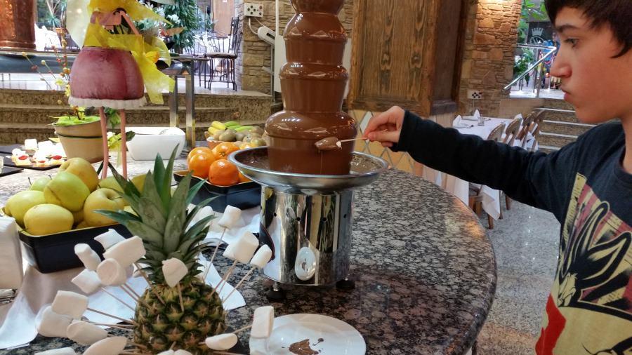 Los desayunos del hotel Princesa Parc son ricos y variados