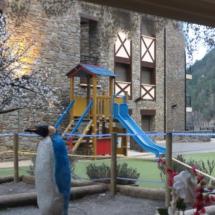 Parque infantil del hotel Princesa Parc de Andorra