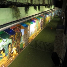 Zona infantil de 'El libro de la selva' en el hotel Princesa Parc
