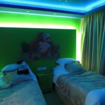 Habitación infantil de 'El libro de la selva' en el hotel Princesa Parc