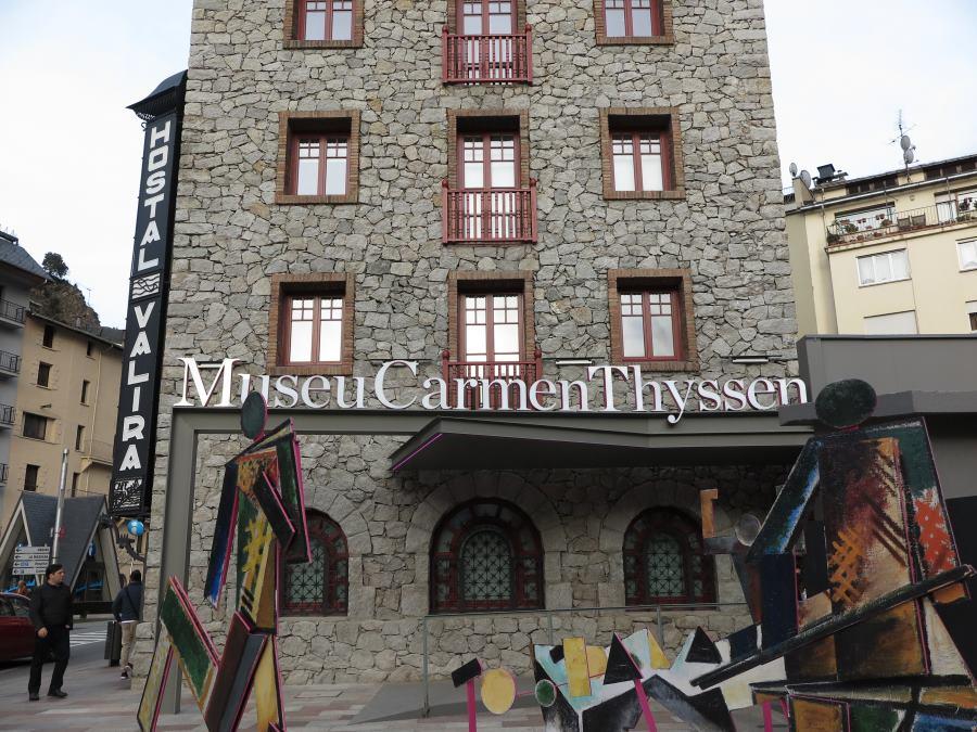 Fachada del Museo Carmen Thyssen de Andorra