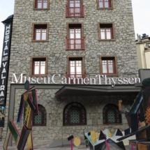 Fachada del Museo Thyssen Andorra