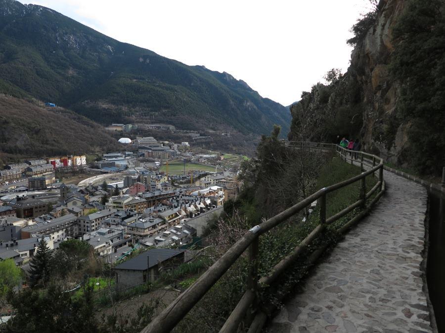 Ruta por Andorra la Vella: camino del Rec del Solà