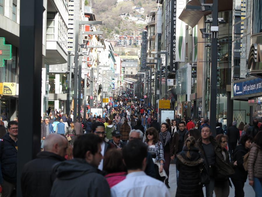 La mitad de los residentes en Andorra son extranjeros.