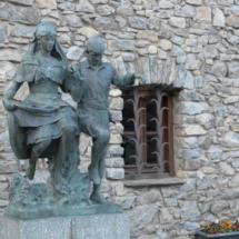escultura casa la vall