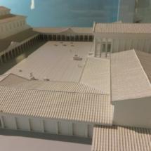 Esquema del antiguo Foro romano de Zaragoza